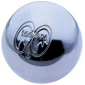 MOON Shift Knob - Chrome with Moon Logo