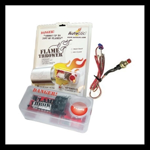 Dual Exhaust Flame Thrower Kit
