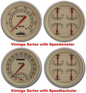 '47-53 Chevy Truck Package - Vintage Gauge Set