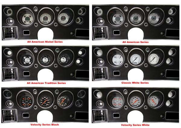 Chevy T Shirts >> '70-72 Chevelle SS Package - Gauge Set
