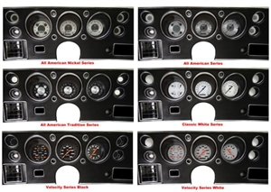 '70-72 Chevelle SS Package - Gauge Set