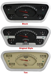 '53-55 Ford F-100 Truck Package - Gauge Panel