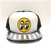 LOUVERED ALUMINUM HAT BILL