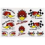 10 Assorted Clay Smith Cams Mr. Horsepower Decals