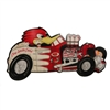 Clay Smith Hot Rod Metal Sign