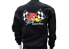 Clay Smith Checkered Flag Black Sweatshirt