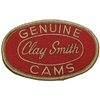 Clay Smith Oval Patch - Red with Gold