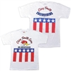 Clay Smith Mr. Horsepower Patriot T-shirt - White