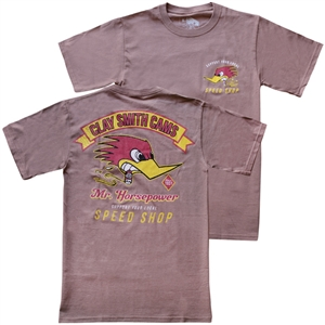 Clay Smith Vintage Speed Shop T-shirt - Brown