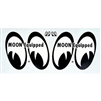 "MOON Equipped Water Transfer Decal - Right/Left 4"" Pair"