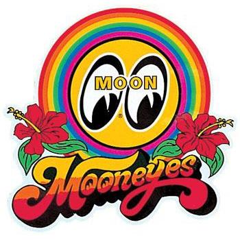 Mooneyes Rainbow Decal
