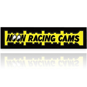 Moon racing cams sticker for Moon valley motor care