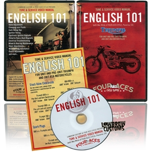 English 101 Tune and Service DVD