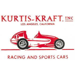 Kurtis kraft racing and sports cars decal for Moon valley motor care