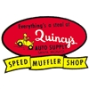 Quincy's Speed Muffler Shop Decal