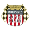 United States Auto Club Decal