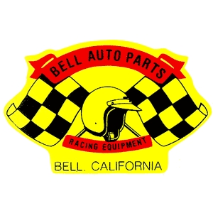 BELL Auto Parts Racing Equipment Decal
