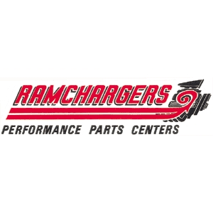 Ramchargers performance parts decal for Moon valley motor care