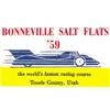 Bonneville Salt Flats 1959 Decal