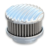 Polished Finned Top Air Cleaner