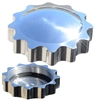 Polished Tank Sprocket Gas Cap