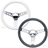 Classic Round Hole Spokes 13.5-inch Steering Wheels