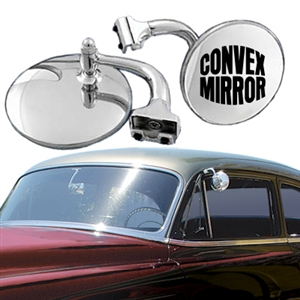 4 inch convex peep mirror for Moon valley motor care