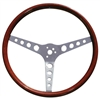 GT Classic 15-inch Round Hole Spoke Wood Steering Wheel