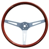 GT Classic 15-inch Slotted Spoke Wood Steering Wheel