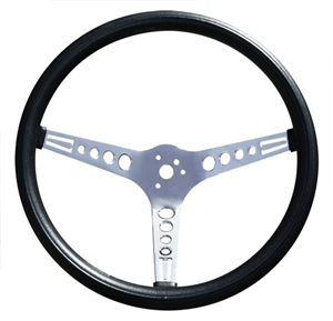 GT Classic 15-inch Mustang Style Hole Spoke Foam Steering Wheel