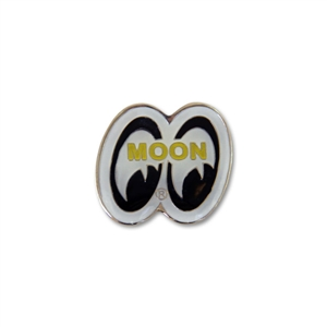 Moon eye shape hat pin for Moon valley motor care