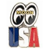 MOONEYES - USA Hat Pin