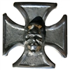 Iron Cross With Skull Emblem