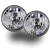 "7"" Halogen Clear Lens Headlights"