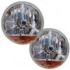 "7"" Halogen Headlights w/Amber Turn Signal"