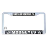 MOONEYES Santa Fe Springs License Frame (Black)
