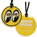 Moon Logo Luggage Tag