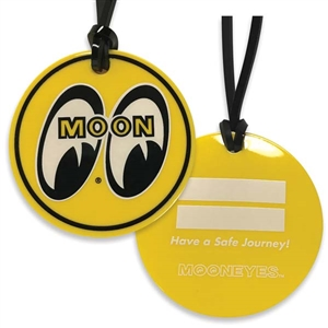 Moon logo luggage tag for Moon valley motor care