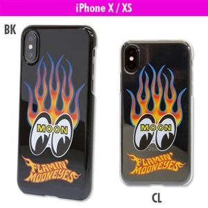 Flamin' MOON iPhone X Hard Case