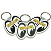 MOON Eyes Logo Key Ring - White