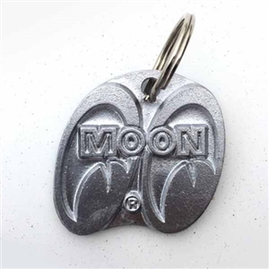 MOON Cast Aluminum Key Chain