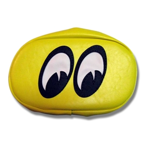 Air scoop cover oval yellow for Moon valley motor care