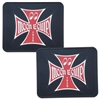 MOON Iron Cross Rubber Utility Mats