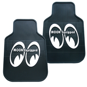 Moon equipped rubber floor mats for Moon valley motor care