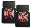 Moon Equip Iron Cross Rubber Floor Mats