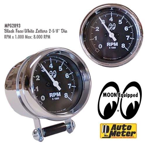 Mooneyes 8 000rpm Tachometer By Auto Meter