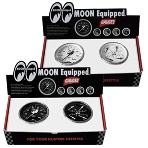Moon equipped 4 1 set 3 3 8 inch quad plus speedometer for Moon valley motor care