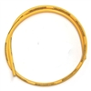 MOONEYES Spiro Wound 8mm Wire by the FOOT (Yellow)