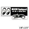 MOON Equipped Roadster Sticker