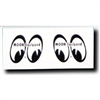 Moon Equipped Eyes Decals Right/Left 1.5-inch Pair